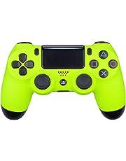 eXtremeRate PS4 Controller Schutzhülle Case Obere Hülle Cover Oberschale Gehäuse Skin Schale für Playstation 4 PS4 Slim PS4 Pro Controller-Lindgrün(CUH-ZCT2 JDM-040 JDM-050 JDM-055)