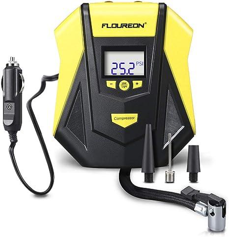 Électrique 12 V voiture pneu gonfleur pompe Numérique Portable Pneu Pompe Compresseur Air
