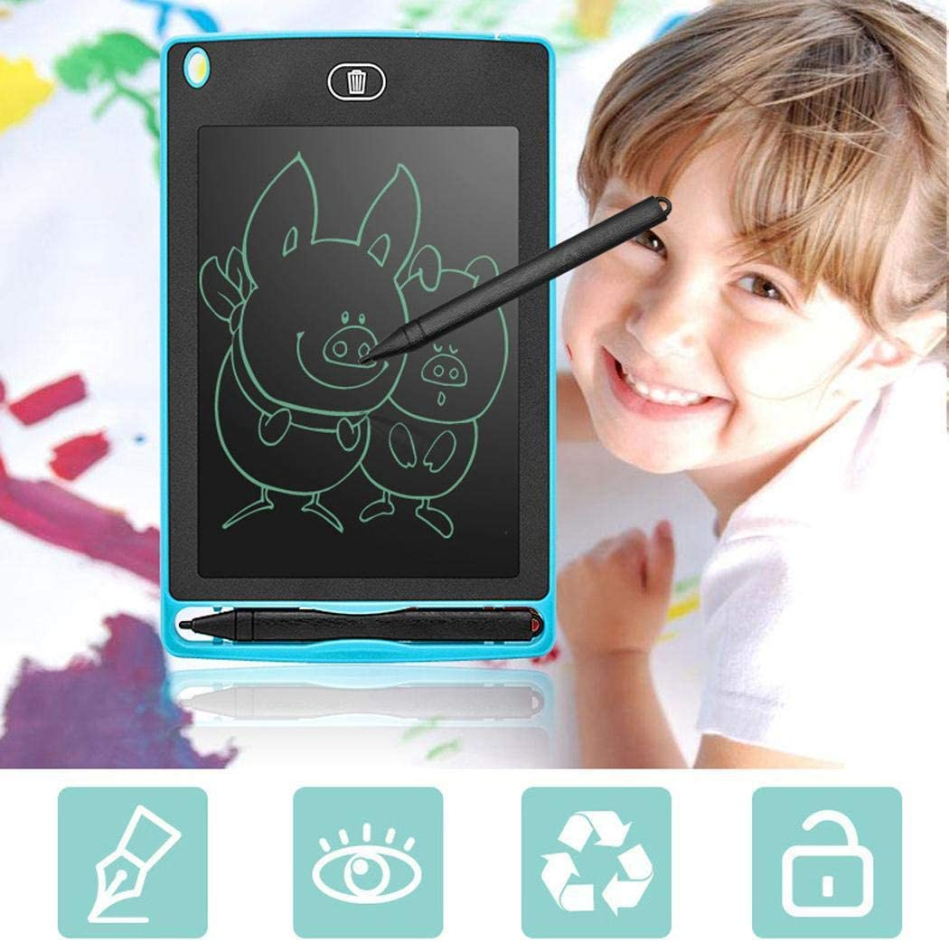 Trenlp 6.5 in LCD Tablet Childrens Drawing Board Graffiti Writing Board Graphics Tablets