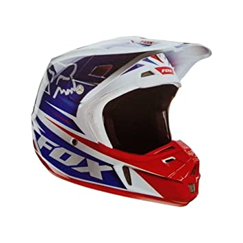 FOX - Casco moto cross Fox V2 RACE 2014 - Talla: S - Color: