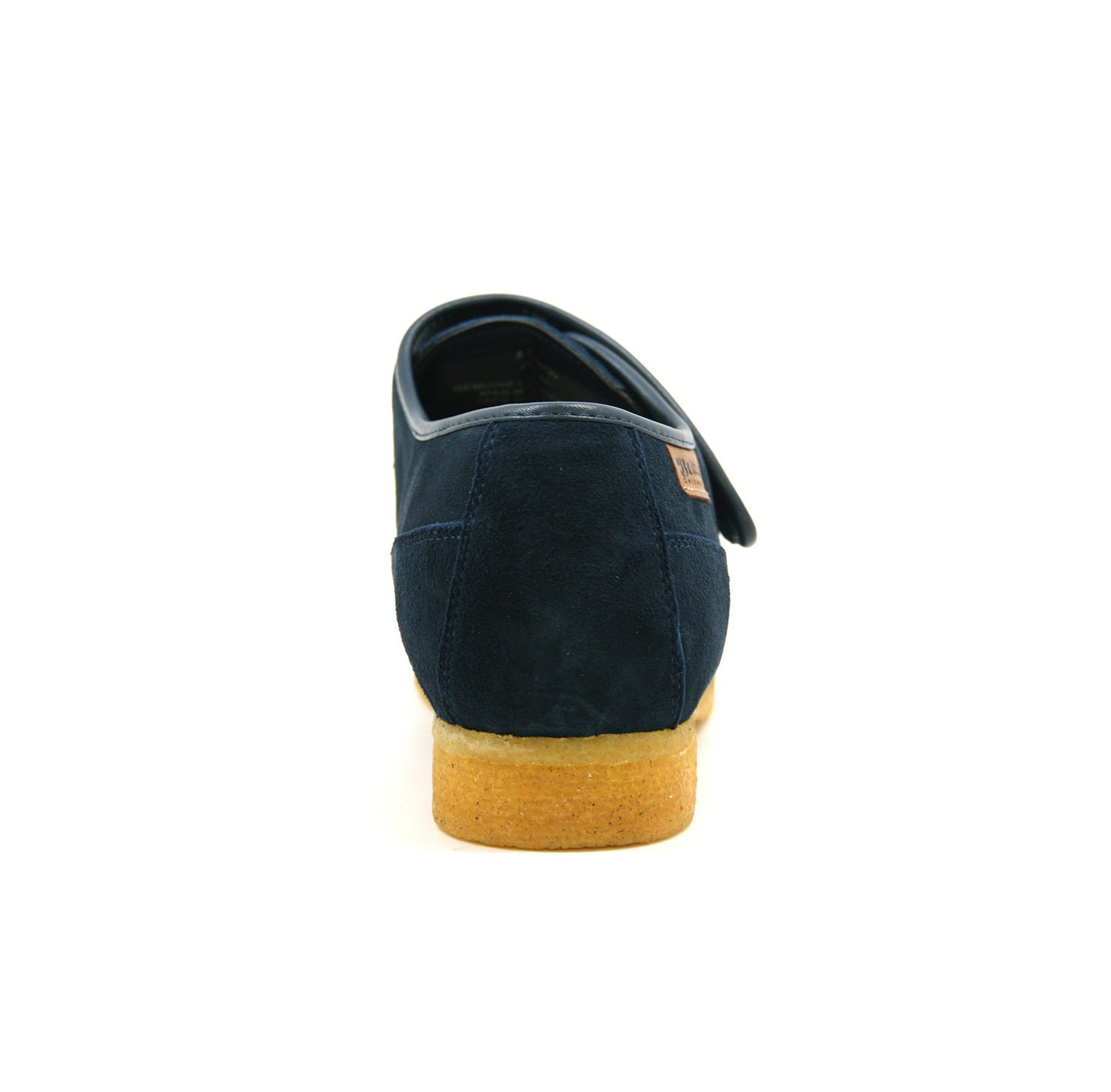 British Collection Royal Old School Slip On Shoes 9.5M Navy Leather by British Collection (Image #3)