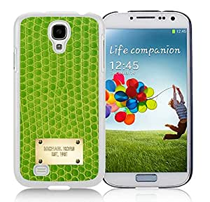 Popular Customize Samsung Galaxy S4 Phone Case With Michael Kors 127 White Samsung Galaxy S4 I9500 Phone Case