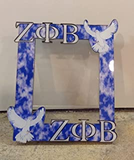 zeta phi beta sorority picture frame