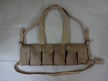 Rhodesian Fereday & Sons Chest Rig con bolsillo de granada - Reproducción
