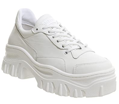 191b3593794ef1 Bronx Damen Weiß Jackson Sneakers  Amazon.de  Schuhe   Handtaschen
