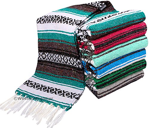 El Paso Designs Genuine Mexican Falsa Blanket Yoga Studio