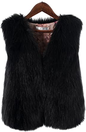 2019 Kids Girls Faux Fur Vest Coat Winter Warm Waistcoat Jacket Outwear Age 1-8