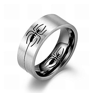 Amazon.com: Excow Jewelry - Anillo de araña, diseño hueco de ...
