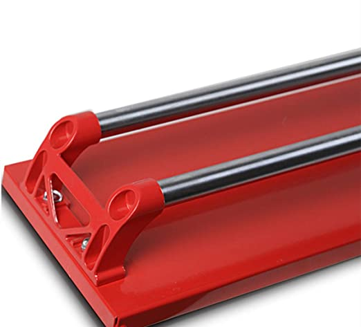 800MM Doppelgleis Rot tcatec Fliesenschneider Fliesenschneidmaschine Manuell Schnittl/änge 800mm Eingleisig Laserf/ührung Einstellbar Handfliesenschneider