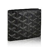 Stylesty Fashion Genuine Leather Wallet Lady Designer Bifold Wallet Pocket Wallet for Women (black)