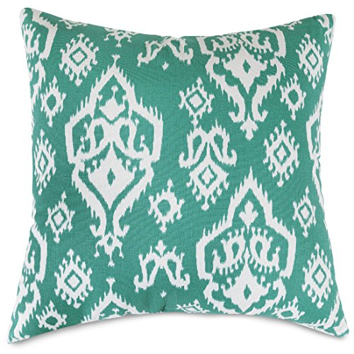 Majestic Home Goods Raja Pillow, X-Large, Jade