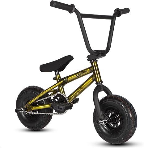 Bicicleta mini BMX Venom 2018 Pro – Color oro y crudo., dorado: Amazon.es: Deportes y aire libre