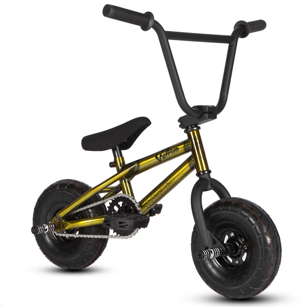 Bicicleta mini BMX Venom 2018 Pro – Color oro y crudo., Raw