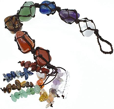 New Crystal Wall Car Hanging Ornaments Money Bag Unique Feng Shui Fortune Gift