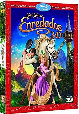 Enredados (Combo BR + BR 3D) [Blu-ray]: Amazon.es: Personajes ...