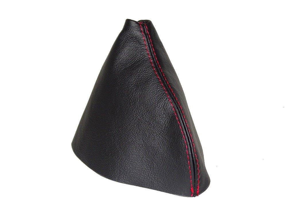 The Tuning-Shop Ltd Funda para Palanca de Cambios y Freno de Mano de Cuero Color Negro