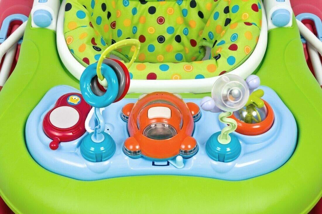 Gehfrei Lauflernhilfe Baby Walker Lauflernwagen m Musik Laufhilfe Multicolor