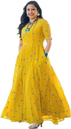 Indian Bollywood Designer Pakistani Indo Western Kurta Kurti With Pocket Mirror Work Anarkali Wedding Ethnic Dress At Amazon Women S Clothing Store,Pakistani Bridal Wedding Dresses For Girls 2020