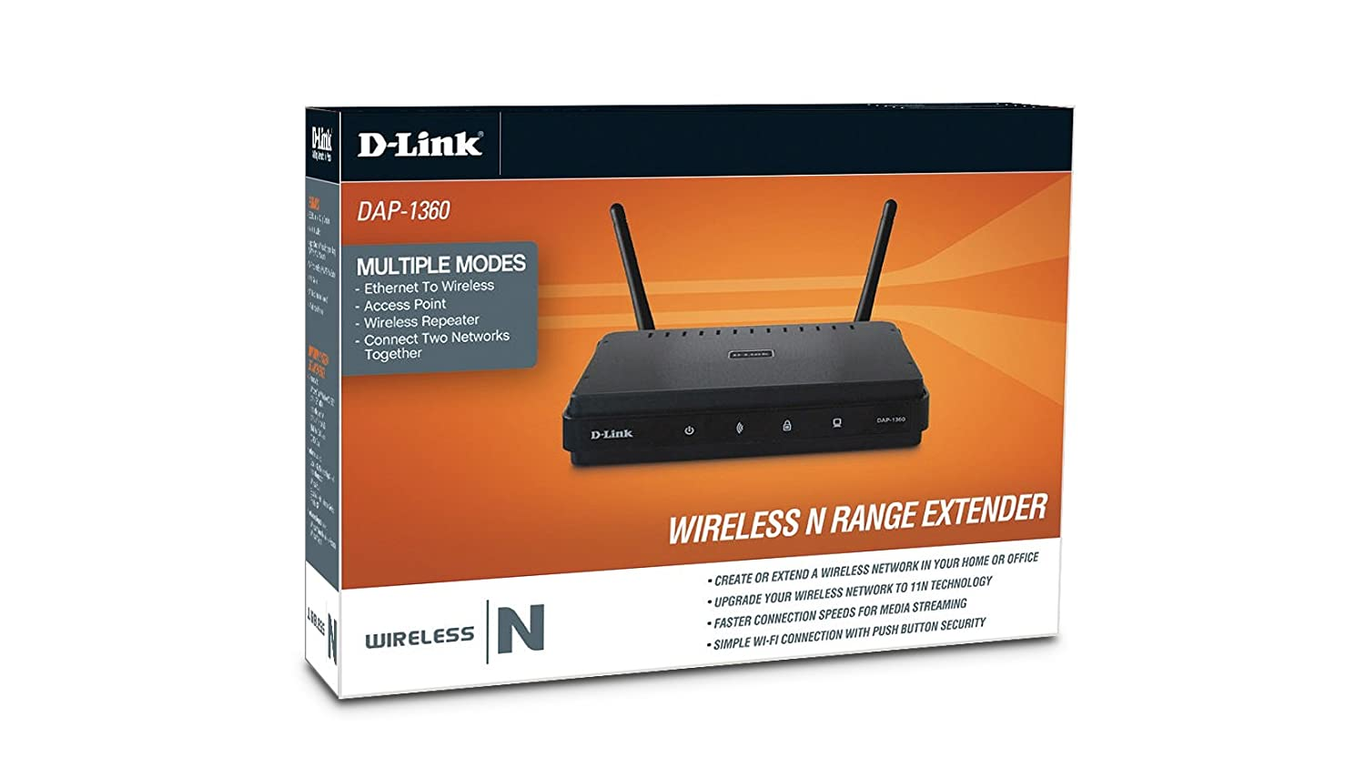 D Link Dap 1360 Wireless N Access Point Black Buy Ethernet Connect A Wifi Or Any Device To My Network Online At Low Price In India