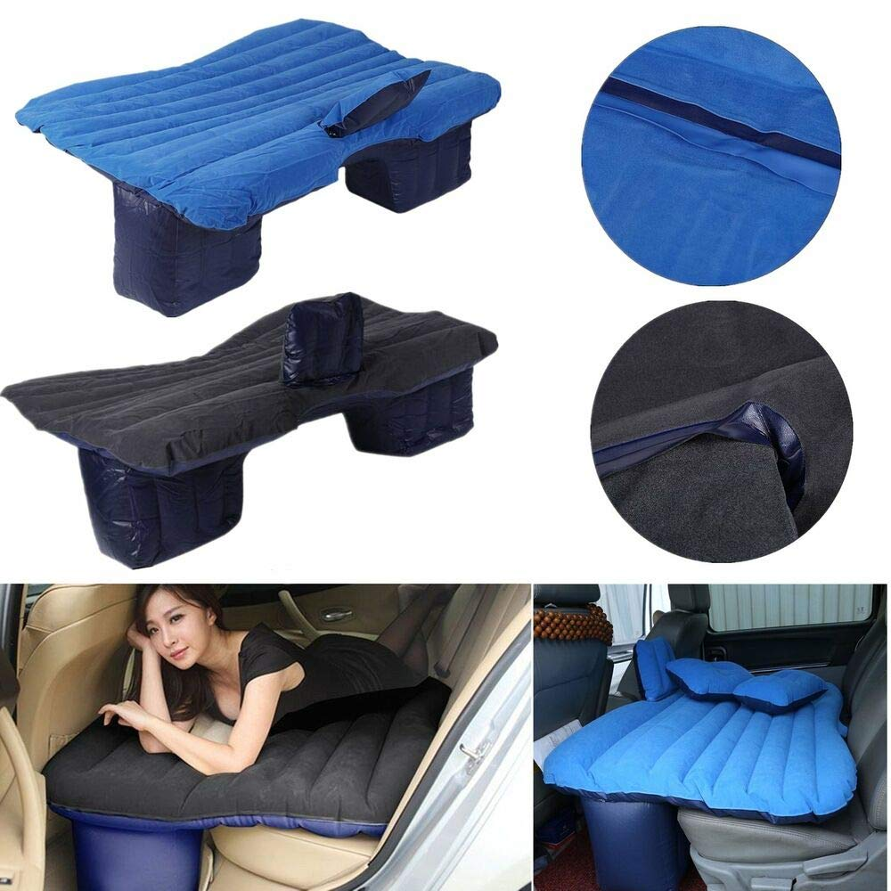 xyz-home Car Travel Inflatable Air Cushion Mattress Backseat Bed Rest Sleep w/Pillow W24274