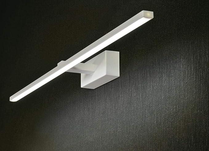 Applique lampada luce da specchio bagno led w k cm design