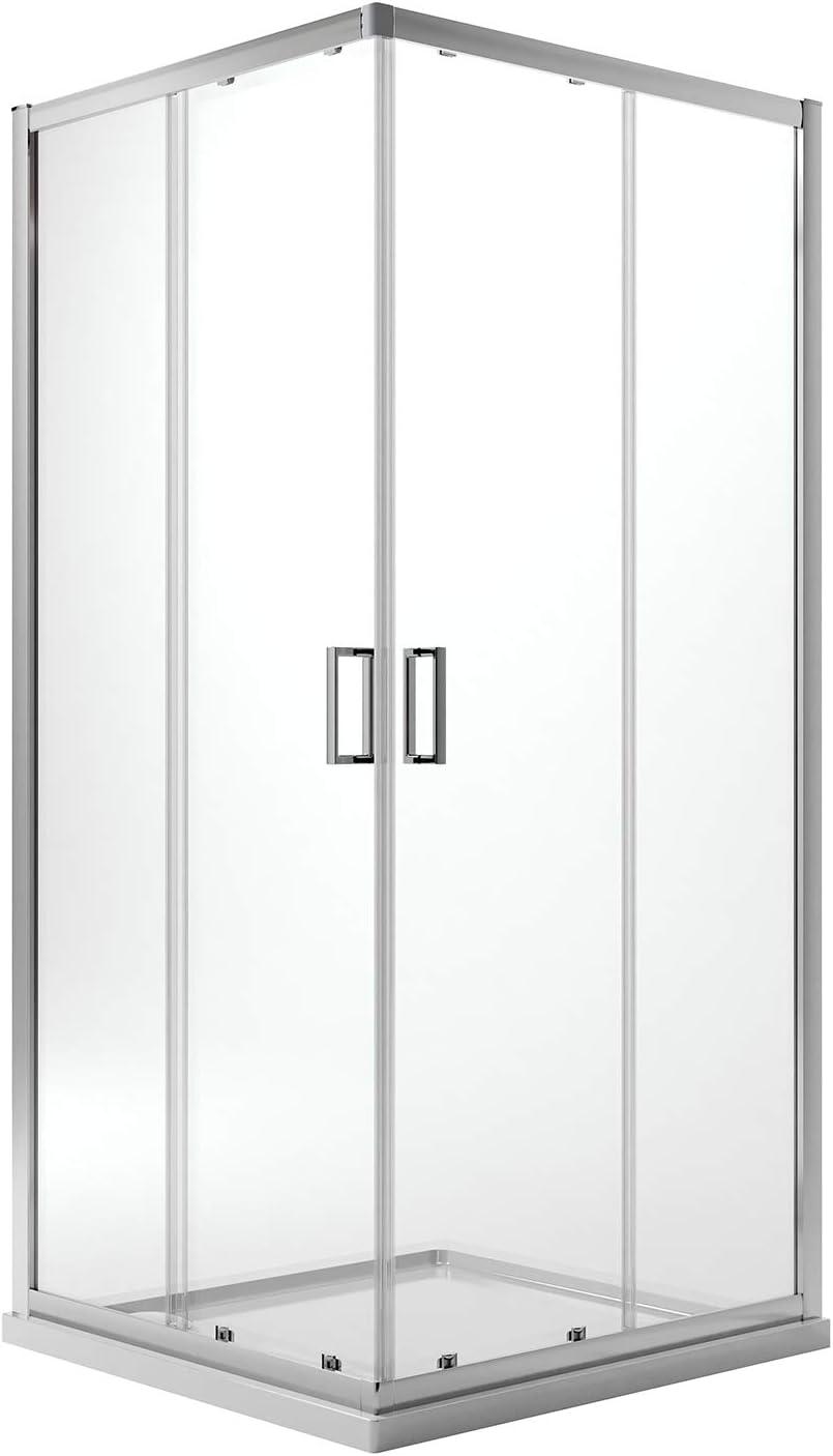 Idralite Box Mampara de Ducha Rectangular 70x100 H185 Transparente 6mm Mod. Ready: Amazon.es: Hogar