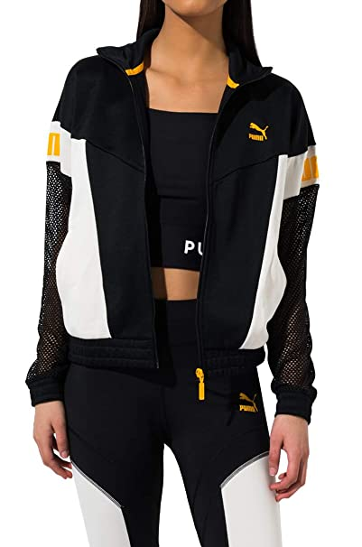 PUMA Womens Flourish Touch of Life Jacket