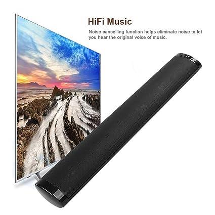 Mobile Porta Tv Con Audio Surround Integrato.Soundbar Tv Compatta Con Bassi Integrati Audio Surround Senza