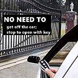 CO-Z Automatic Sliding Gate Opener Hardware Sliding Driveway Security Kit (Backup Remote)