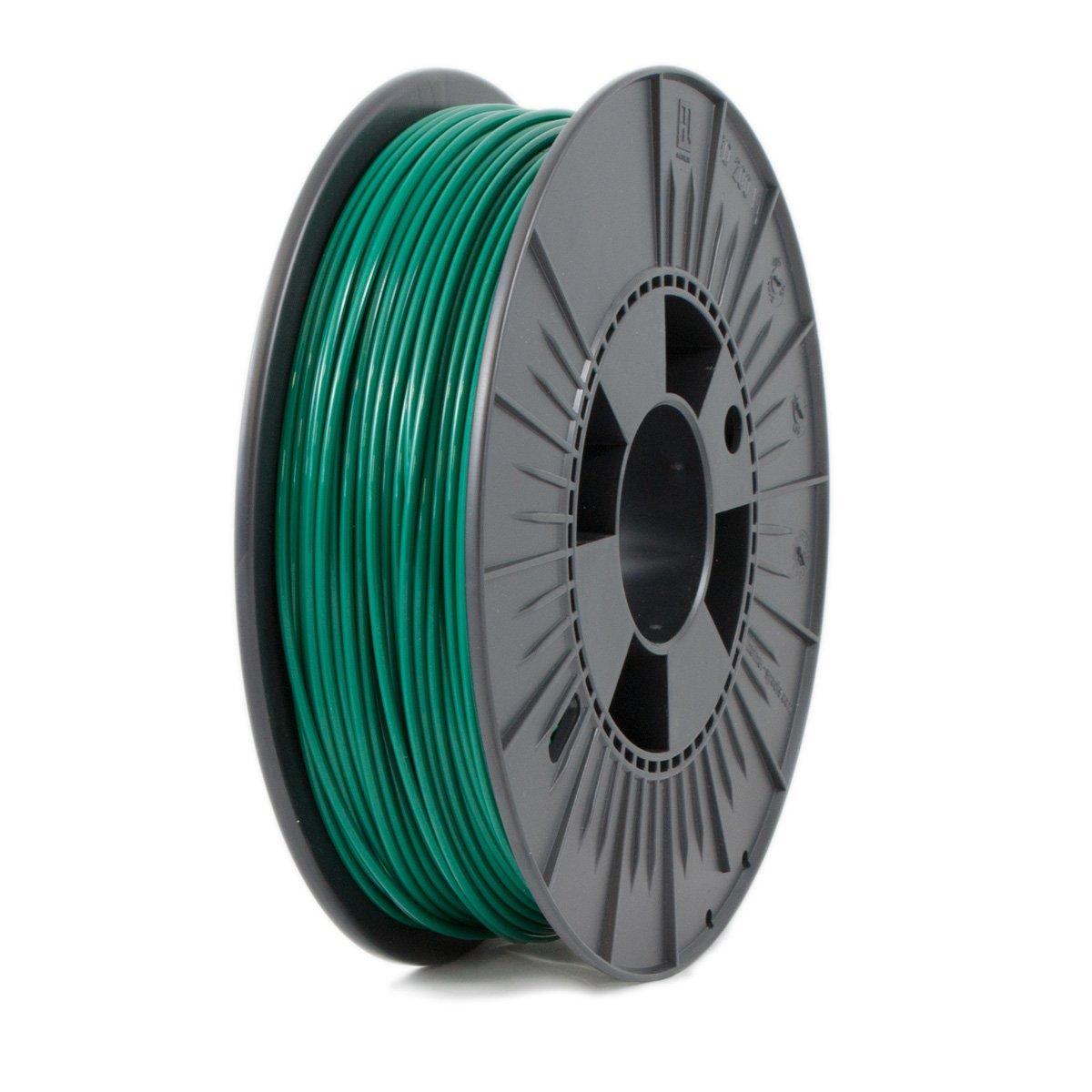 Ice Filaments ICEFIL3PLA126 Filamento PLA, 2,85 mm, 0,75 kg, Verde Oscuro