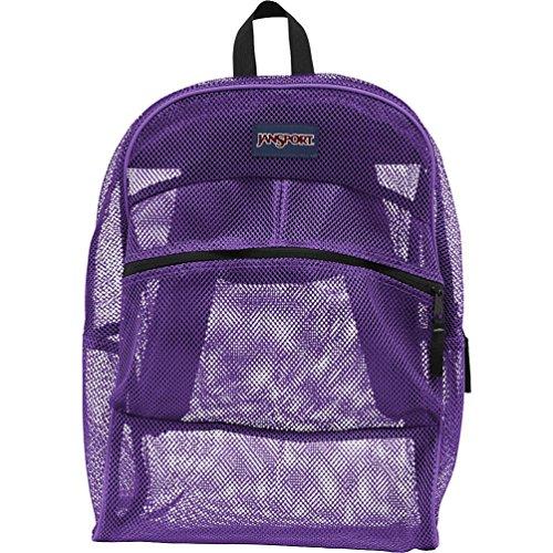 JanSport Mesh Backpack (Purple)