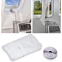 Raamafdichting voor mobiele airconditioners, AirLock, geschikt voor elk airconditioner en alle slangmaten. 300 cm