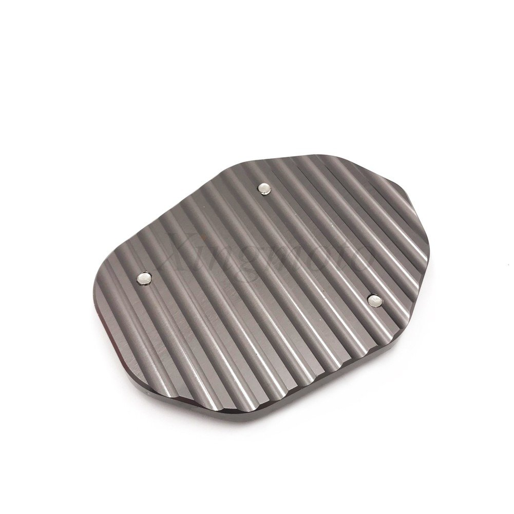 CNC Side Stand Extension Pad Plate Enlarge For Compatible with Ducati Scrambler 800 2015-2018 NBX