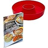 Kochbuch 2in1 Koch- und Backideen Omnia Silikonform 2.0 OMNIA-KITCHEN Omnia Silikonform 2-teiliges Spar-Set
