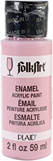 product image for FolkArt Enamel Glass & Ceramic Paint in Assorted Colors (2 oz), 4003, Baby Pink