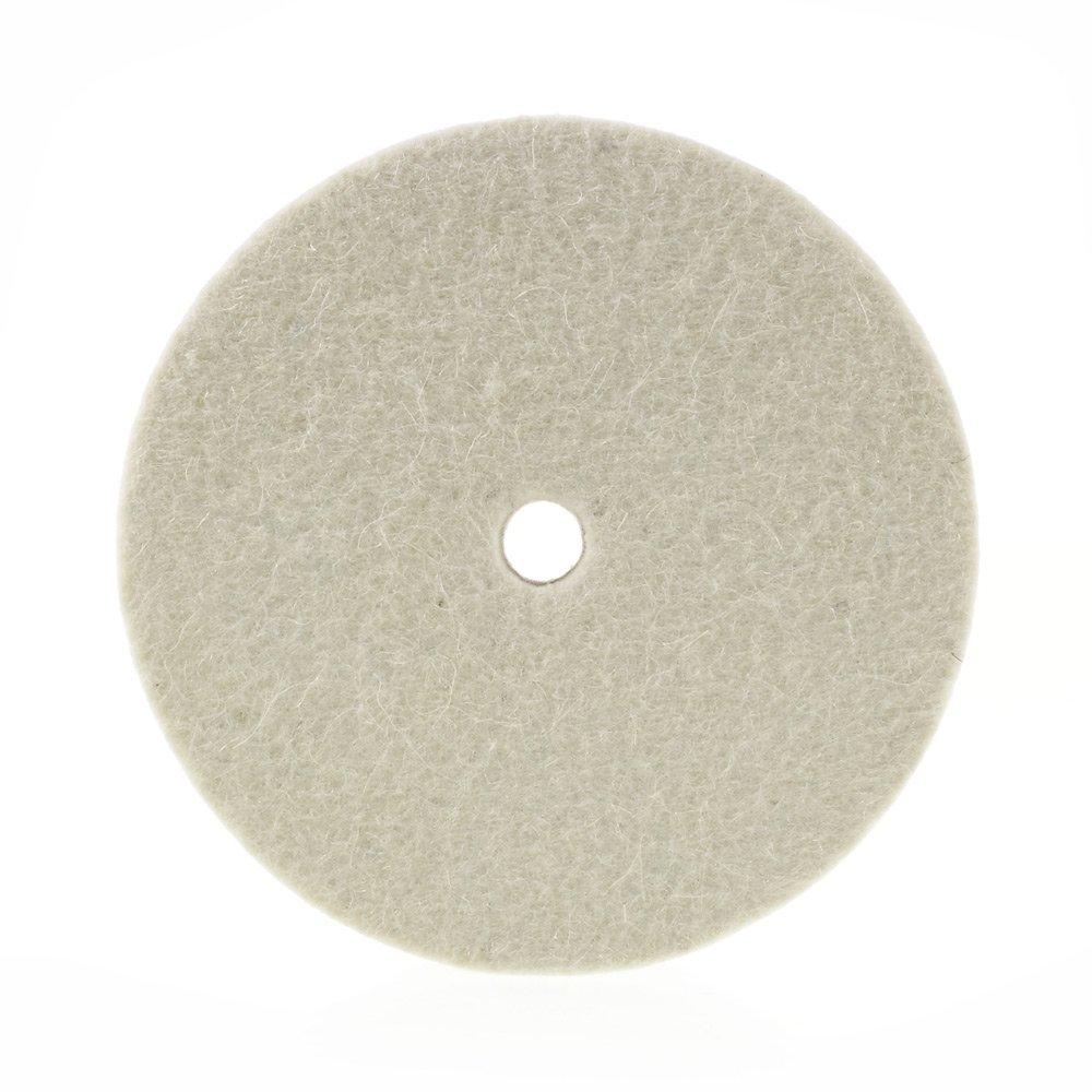 Premium 8'' 100% Organic Wool Felt Polishing Buffing Wheel