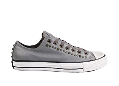 573c4945a207 Converse Chuck Taylor Lo Top Studded Charcoal Gray Mens 10   Womens 12