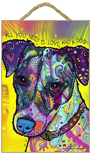 SJT ENTERPRISES, INC. Jack Russell - All You Need is Love and a Dog 7