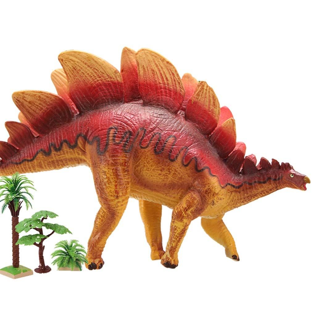 Kaiyu Tyrannosaurus Rex, Triceratops, Stegosaurus Dinosaur Toys Kids Dinosaur Toy Dinosaur Plastic (Size : 2)