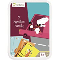 Avenue Mandarine CO101O - Set of 42 Cards for 7 Families Means of Transport in Resalable Plastic Box