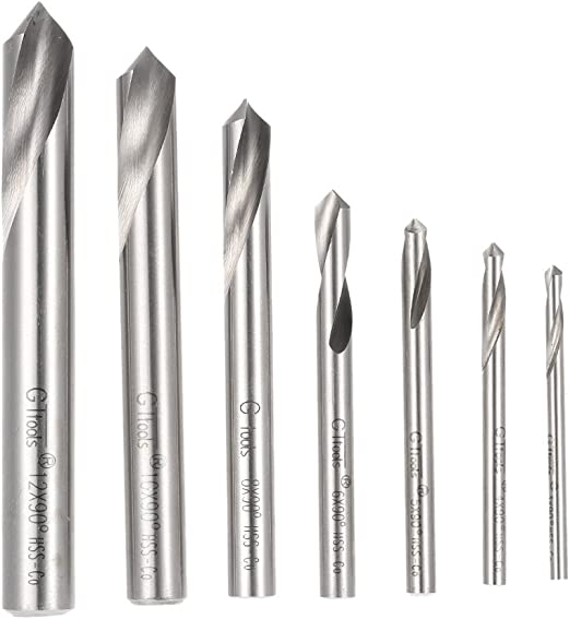 1//4 Diameter x 2-97//128 Length Straight Shank Uncoated Bright Pack of 1 Slow Spiral YG-1 High Speed Steel NC Spotting Drill Bit 90 Degree