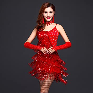 851260bc87bdc Female Latin Dance Costume Female Latin Dance Wear High-End Hot ...