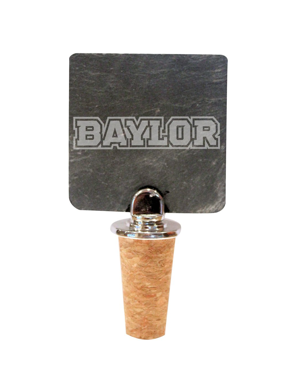 Baylor Slate Bottle Stopper by The College Artisan (Image #1)
