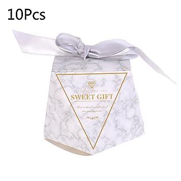 Amazon.com: ShapeW 5 x 10 cajas de regalo para baby shower ...
