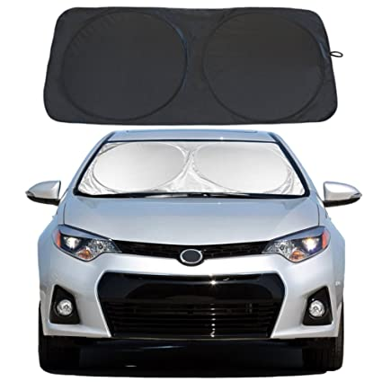 Amazon Com Yidee Windshield Sun Shade Car Window Shade Uv Reflector