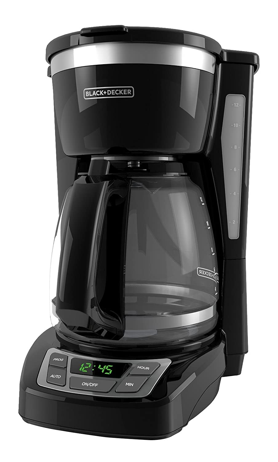Black and decker 12 cup programmable - Amazon Com Black Decker Cm1160b 12 Cup Programmable Coffee Maker Digital Control Programmable Coffee Maker Black Stainless Steel Kitchen Dining