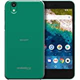 Ymobile android one S3 アンドロイドワン S3ケース android one S3カバー SIMフリー ハードケース スマホケース ポリカーボネイト 液晶保護フィルム付 全機種対応 ★透明 [Breeze-正規品]