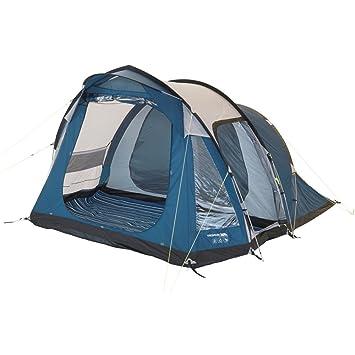 Trespass Go Further 4 Man 2 Room Family Tent: Amazon.co.uk: Garden ...