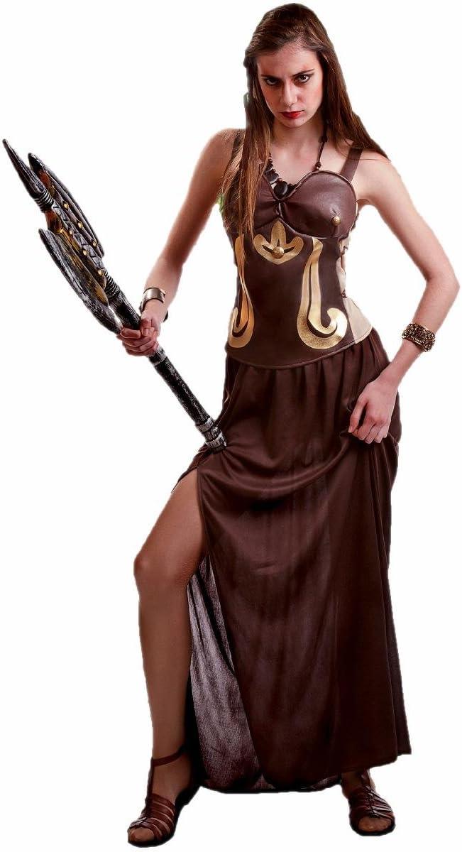 Disfraz de Guerrera Romana marrón para mujer: Amazon.es: Juguetes ...