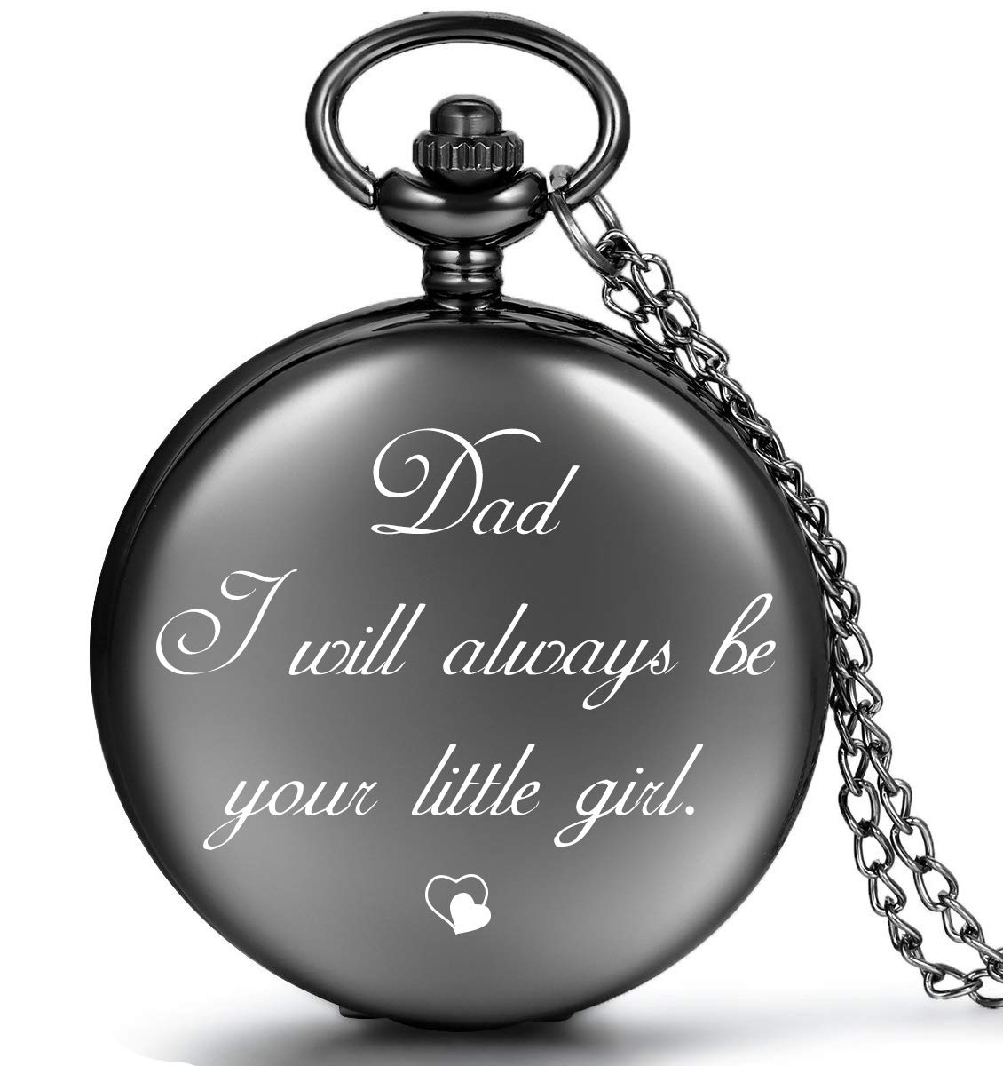 LEVONTA Best Dad Gifts from Daughter for Birthday, Personalized Gifts for Dad Christmas Valentines Day Fathers Day (Dad's Little Girl)